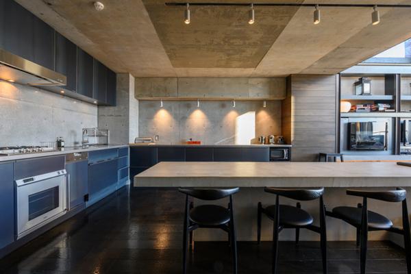 Suiboku Indoor Kitchen and Dining Area with Wooden Floor | Upper Hirafu Village
