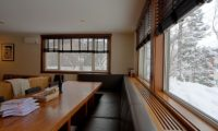 The Lodge Dining Area with Outdoor View | Upper Hirafu