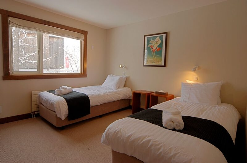 The Lodge Twin Bedroom with Carpet | Upper Hirafu
