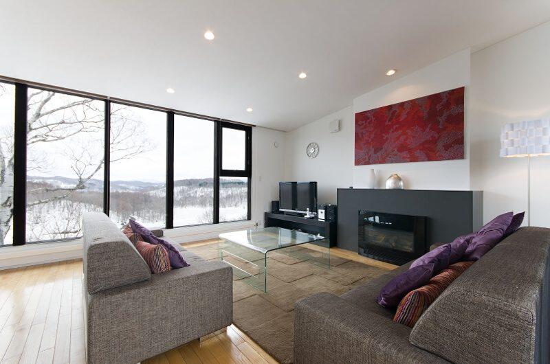 Tokubetsu Living Area with TV | Lower Hirafu
