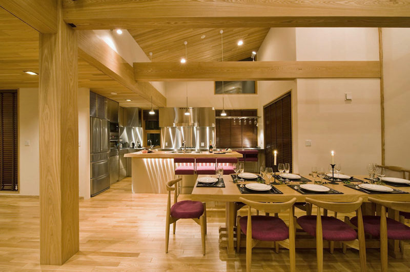 Tsubaki Kitchen and Dining Area | Lower Hirafu