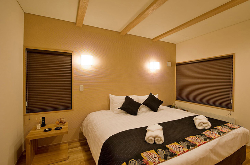 Tsubaki Bedroom at Night | Lower Hirafu