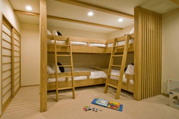 Tsubaki Bunk Beds | Lower Hirafu