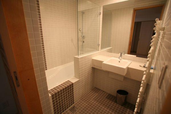 Yuki Yama Apartments Bathroom | Middle Hirafu