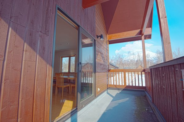 The Chalets at Country Resort Chuzenji Balcony View | West Hirafu