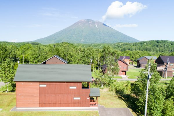 The Chalets at Country Resort Chuzenji Outdoor Area with Mountain View | West Hirafu