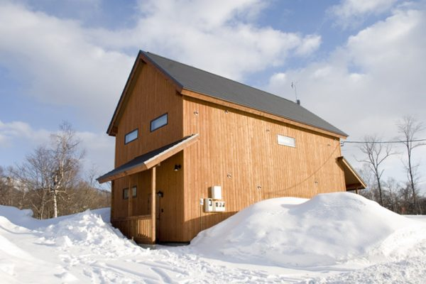 The Chalets at Country Resort Shimano Outdoor Area with Snow | West Hirafu