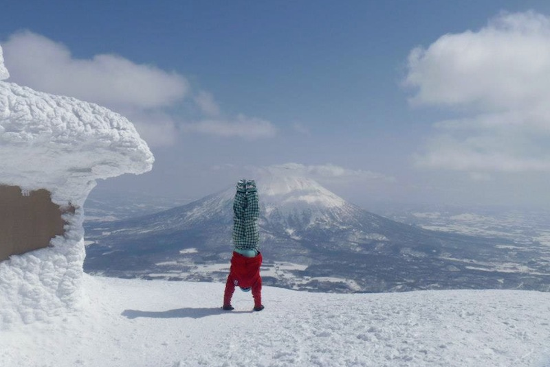 Niseko Grand Hirafu peak