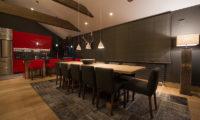 Akatsuki Kitchen and Dining Area | Middle Hirafu Village