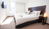 Alpen Ridge Twin Bedroom | Upper Hirafu Village