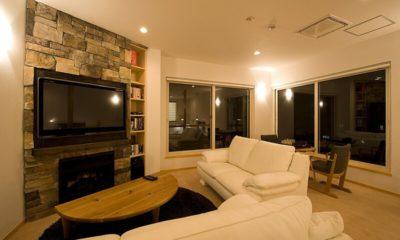 Birch Grove Lounge Area with TV | Lower Hirafu
