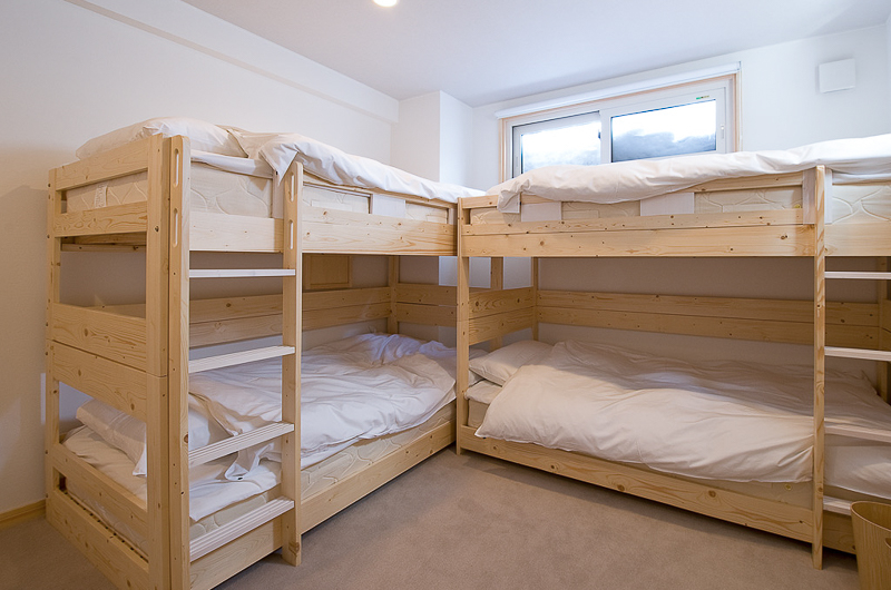Birch Grove Bunk Beds with Window | Lower Hirafu