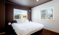 Birch Grove Bedroom with Window and View | Lower Hirafu