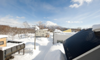 Birch Grove Outdoor Area with Snow | Lower Hirafu