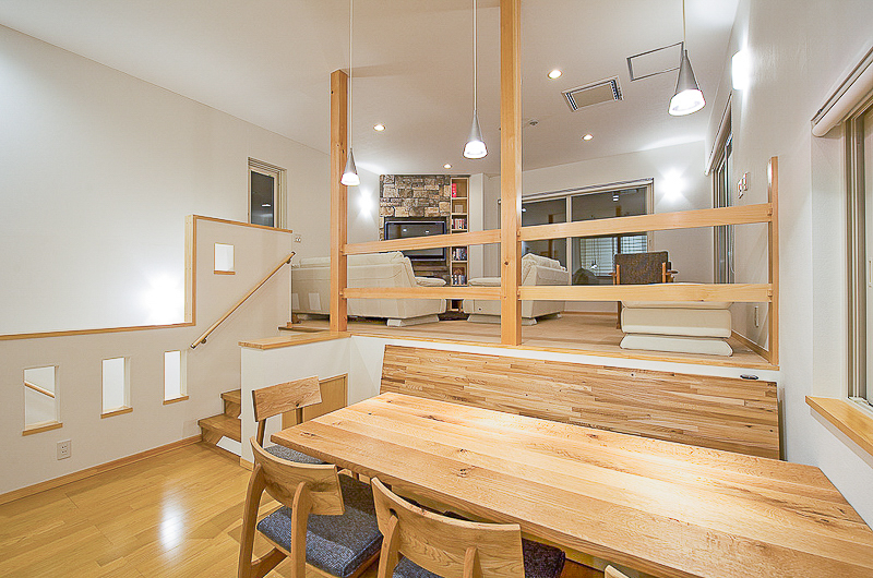Birch Grove Indoor Living and Dining Area | Lower Hirafu