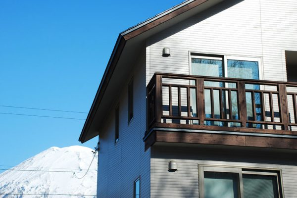 The Chalets at Country Resort Kusharo Outdoor View of Balcony | West Hirafu
