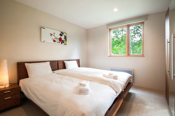 The Chalets at Country Resort Nagatoro Bedroom with Window | West Hirafu