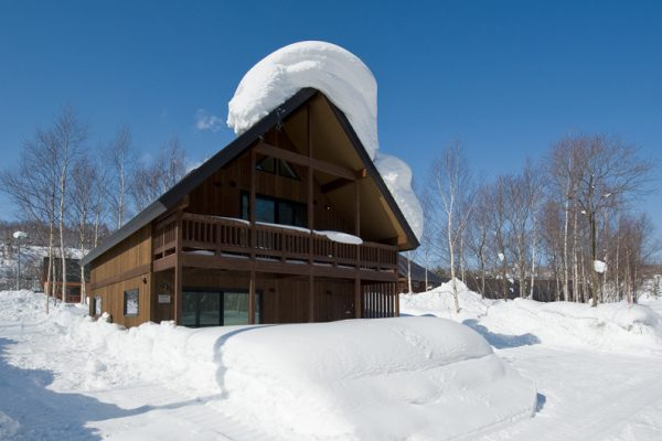 The Chalets at Country Resort Rishiri Outdoor Area with Snow | West Hirafu
