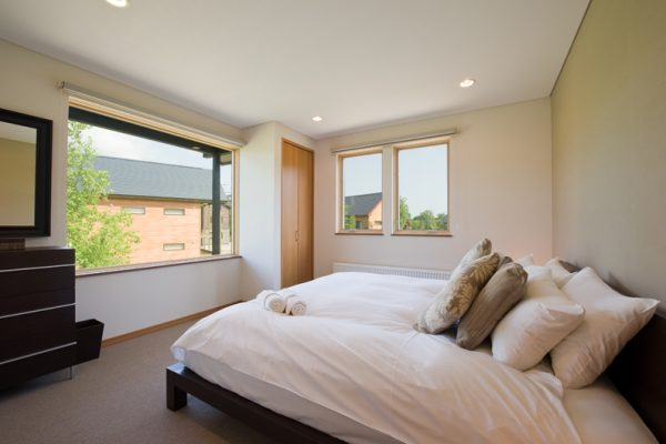 The Chalets at Country Resort Shiretoko Bedroom with Window | West Hirafu