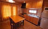 Ezo Fuji Kitchen and Dining Area | East Hirafu