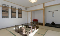 Futagoyama Five Bedroom Chalet Seating Area | Middle Hirafu Villag