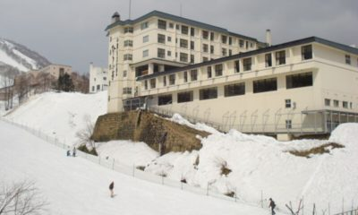 Hirafutei Prince Hotel Outdoor Area with Snow | Upper Hirafu