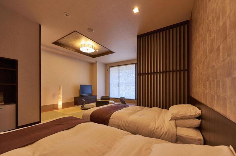 Hirafutei Prince Hotel Twin Bedroom with TV | Upper Hirafu