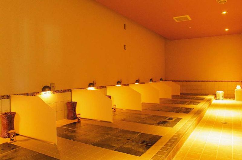 Hotel Niseko Alpen Hot Stone Sauna | Upper Hirafu