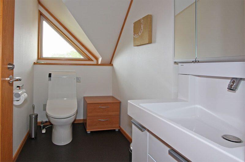Kabayama Log House Bathroom | West Hirafu