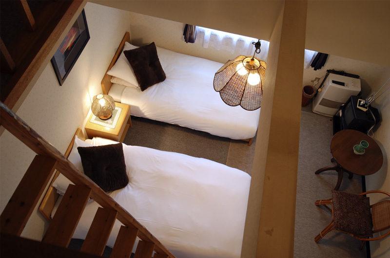 Lodge Mokoro Twin Bedroom Top View | Annupuri