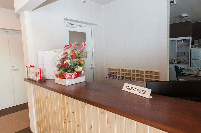 Lodge Koropokkuru Front Desk | Upper Hirafu