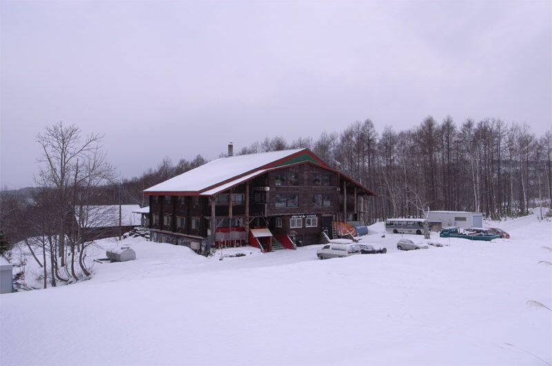 Moiwa Lodge Niseko Outdoor Area with Snow | Moiwa