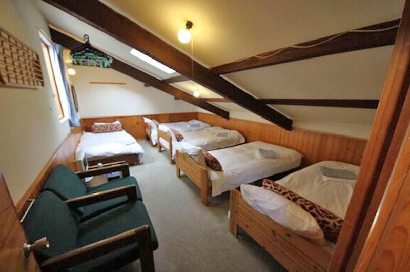 Moorea Lodge Bedroom with Five Beds | Middle Hirafu