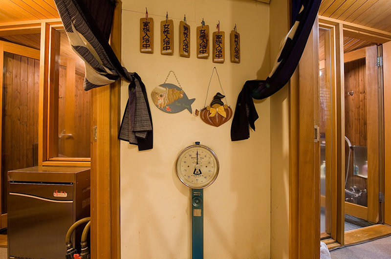 Moorea Lodge Weighing Machine | Middle Hirafu