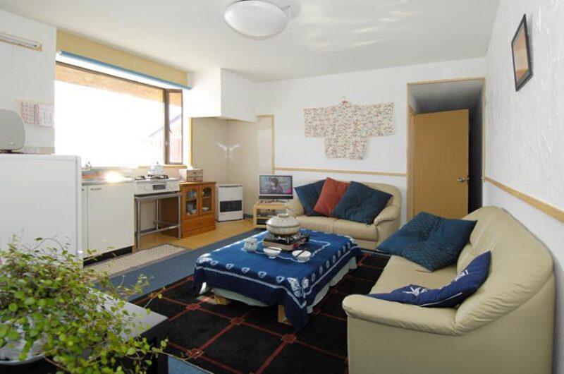 Mushroom Apartments Living Area | Middle Hirafu
