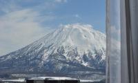 Niseko Park Hotel Mountain View from Window | Upper Hirafu