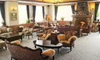 Niseko Park Hotel Living Area with Fireplace | Upper Hirafu