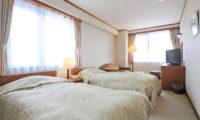 Niseko Park Hotel Twin Bedroom with TV | Upper Hirafu