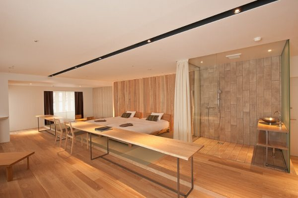 One Niseko Resort Towers Bedroom and Bathroom | Moiwa