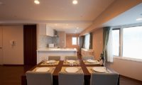 One Niseko Resort Towers Kitchen and Dining Area | Moiwa