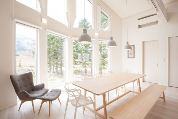 The Orchards Niseko Comfort Dining Area with Mountain View | West Hirafu