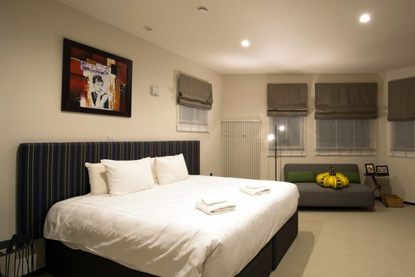 The Orchards Niseko Comfort Bedroom with Sofa | West Hirafu