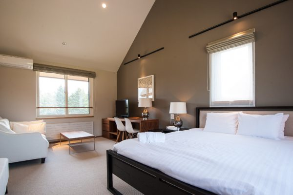 The Orchards Niseko Goyomatsu Spacious Bedroom with Sofa | West Hirafu