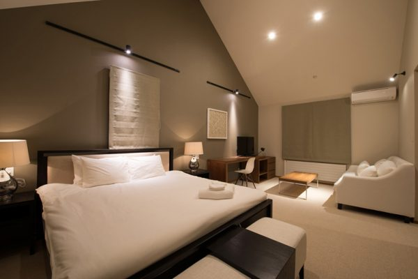 The Orchards Niseko Goyomatsu Bedroom with Sofa | West Hirafu