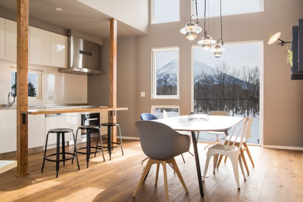 The Orchards Niseko Momiji Kitchen and Dining Area | West Hirafu