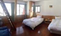 Pension Full Note Bedroom with Twin Beds | Middle Hirafu