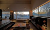 Sekka Hanazono House Living Area with Outdoor View | Hanazono