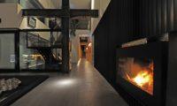 Sekka Hanazono House Fireplace | Hanazono