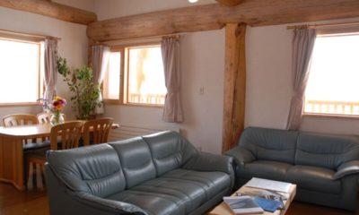 Silver Birch Living and Dining Area | Upper Hirafu
