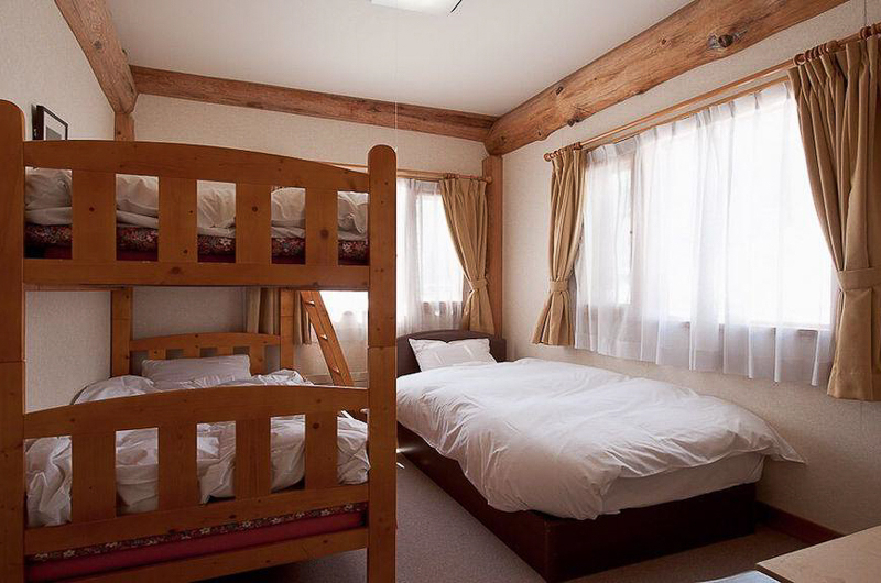 Silver Birch Bedroom with Bunk Beds | Upper Hirafu